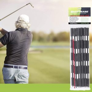 golf club shaft inserts to reduce vibration